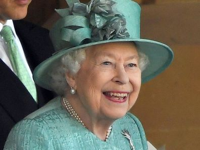 Queen Elizabeth Trooping the Colour 2020 Windsor Castle