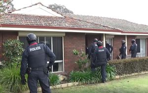 Police launch national offensive against the Hells Angels bikie gang, 24 charged