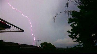 Lightning. (Instagram/rabbits4lyf)