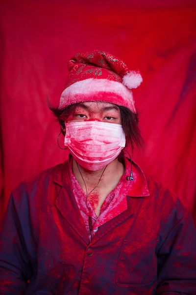 <p>Wei and his parents came to Yiwu from their home in Guizhou province this past spring, after their friends told them that they could make up to 4,000 RMB ($791) a month working in the factories. </p><p></p>