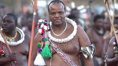 Tiny African nation of Swaziland changing its name
