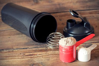 TRUE: That weird smell will never wash out of your protein shaker