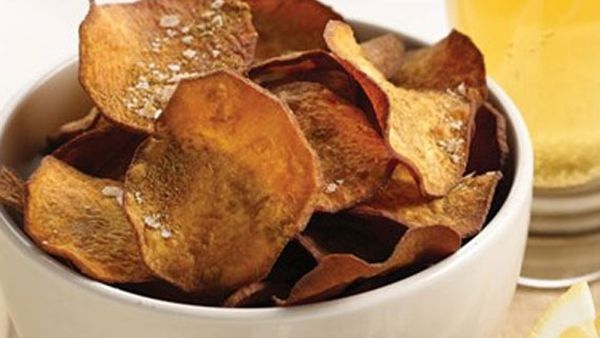 Kumara chips with cumin salt