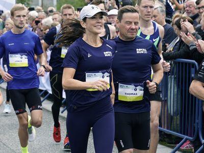 Princess Mary takes part in the Royal Run, September 2021