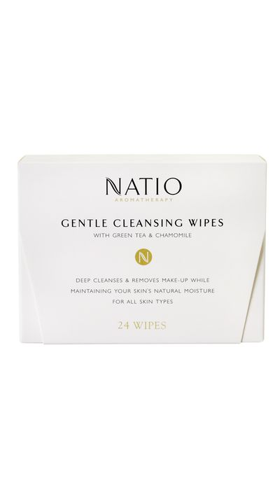 "<a href=""https://natio.com.au/skincare-aromatherapy/gentle-cleansing-wipes"" target=""_blank"">Gentle Cleansing Wipes, $10.95, Natio</a>"