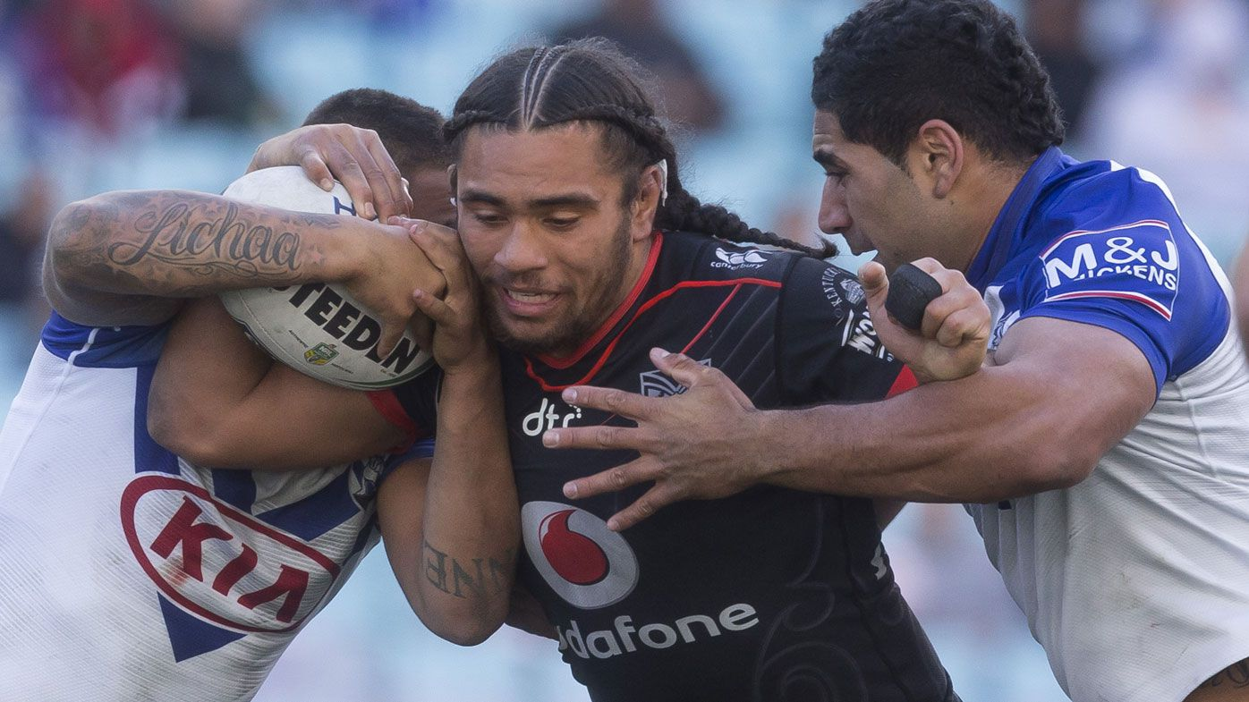 Warriors star Isaiah Papali'i stood down for drink driving