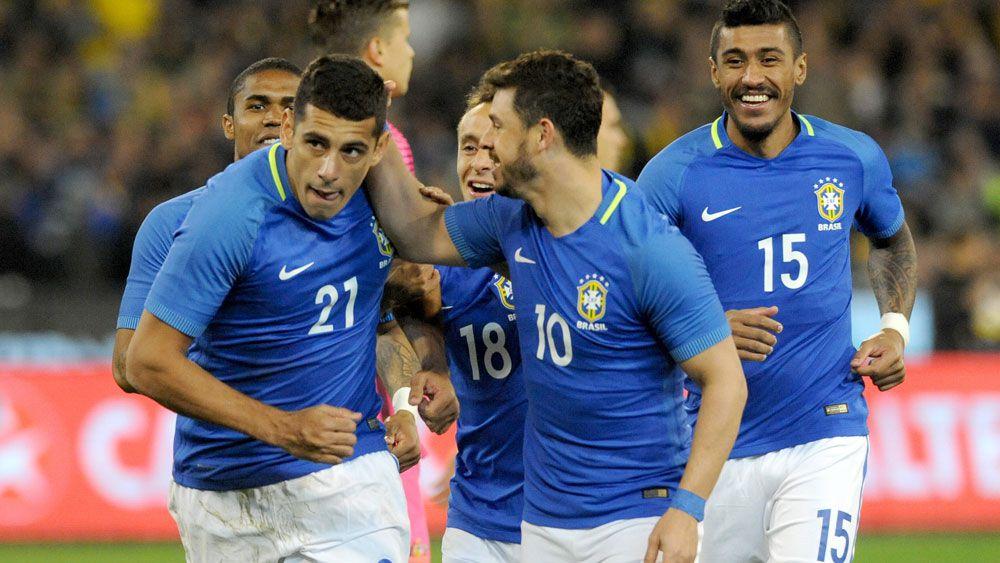 Brazil opens scoring after 12 seconds against Socceroos