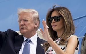 Trump and first lady request mail-in ballots despite attacks