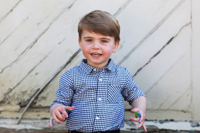 Prince Louis celebrates his 2nd birthday