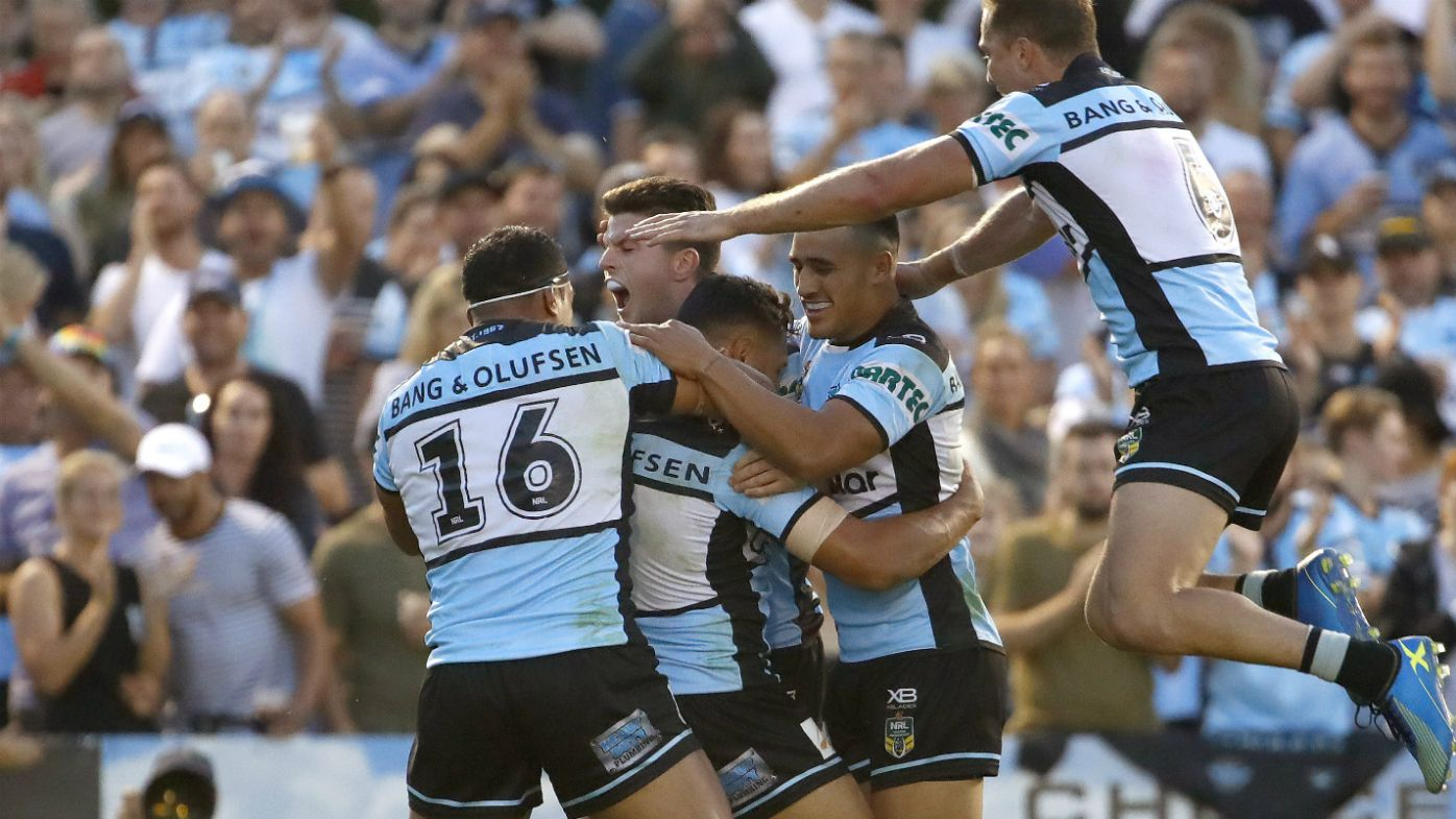 Injury-hit Cronulla Sharks hang on against Penrith Panthers in NRL