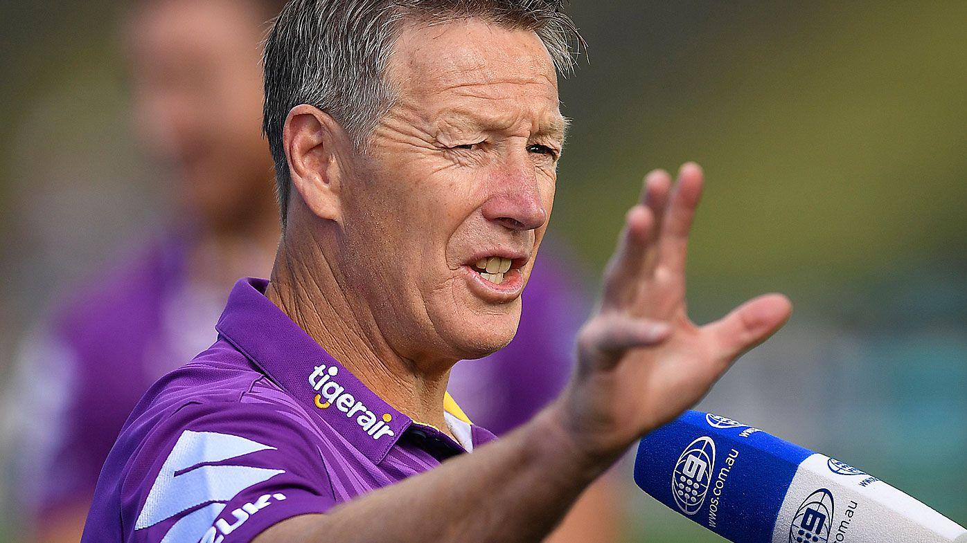 Storm coach Craig Bellamy