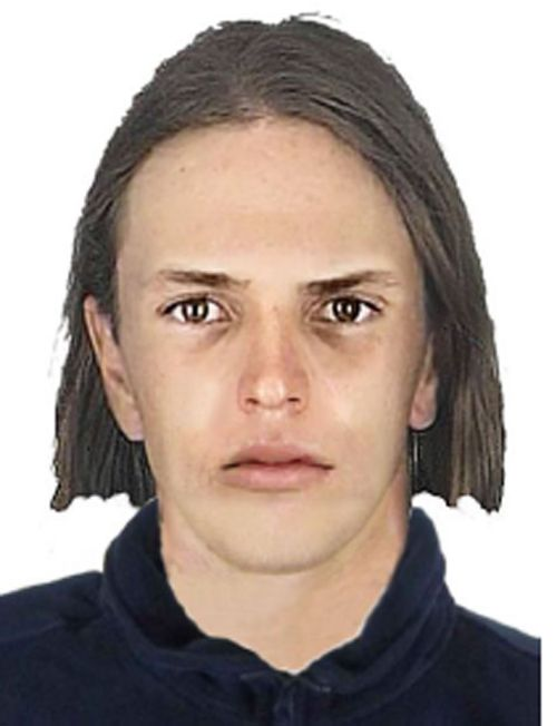 Composite image of one of the offenders police are looking for. (Victoria Police)