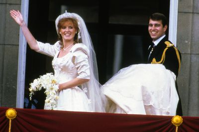 """<b>Became royalty in:</b> England<p>Fergie definitely made a splash during her ill-fated marriage to Prince Andrew - as well as after.<P>The proud """"commoner"""" was most recently busted on camera trying to sell access to her former Royal hubby."""