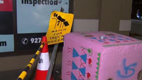 Bollard at dangerous Melbourne corner destroyed days after installation