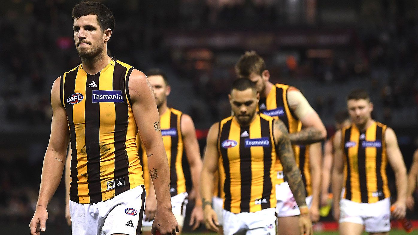How Hawthorn captain Ben Stratton avoided suspension for previous pinching offence