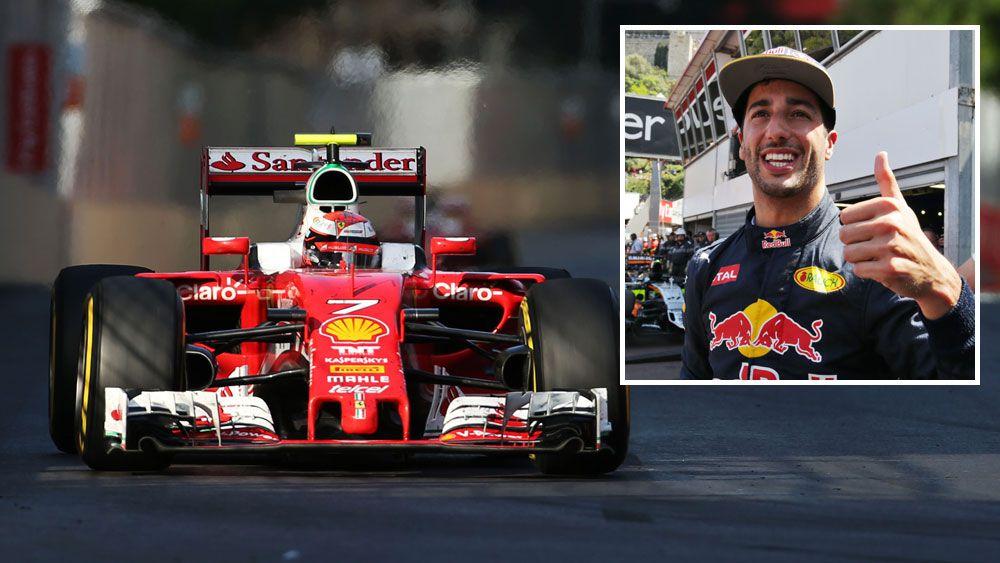 Ricciardo moves on from Ferrari talk