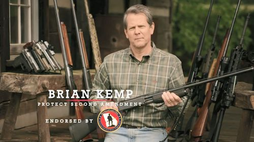 Brian Kemp in one of his campaign ads.