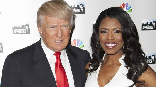 Donald Trump and Omarosa Manigault-Newman in 2013.