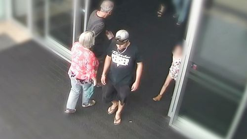 Sterling Free sexually assaulting the seven-year-old girl in bushland near the Westfield North Lakes, north of Brisbane.