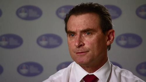 Brett Holmes said the struggle was taking a terrible toll on midwives and nurses.
