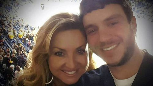 Sonny Melton, one of the first confirmed victims of the Vegas massacre, with his partner.