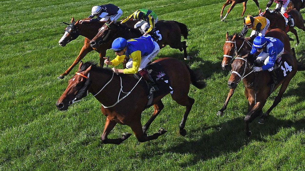 Hugh Bowman won another Group One on Le Romain. (Getty Images)