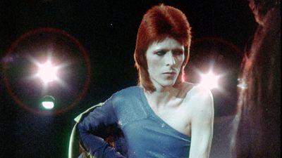 Bowie's 'Ziggy Stardust' era in 1973. (Getty)