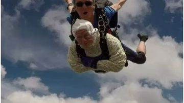 Irene O'Shea has intentionally plummeted 14,000 feet from a moving plane all in the name of charity.