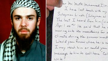 John Walker Lindh, the American found guilty of fighting for the Taliban.