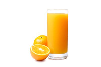 Avoid: Fruit juice and dried fruit