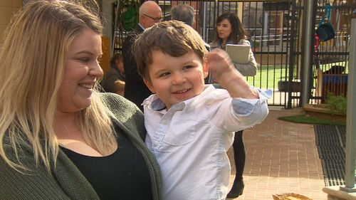 Children under 4 years of age will be eligible for the free jab from October 1. Picture: 9NEWS