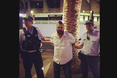 @nathanlittle: 'Umm arrested already #bbau #bbaulive #bbfinale.'