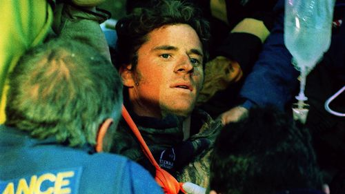 Stuart Diver and was pulled from the rubble three days after the landslide.