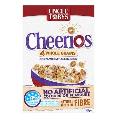 Uncle Toby's Cherrios Wholegrain