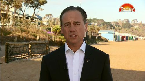 Federal Health Minister Greg Hunt also said the backflip in policy comes as a move to lower electricity prices.