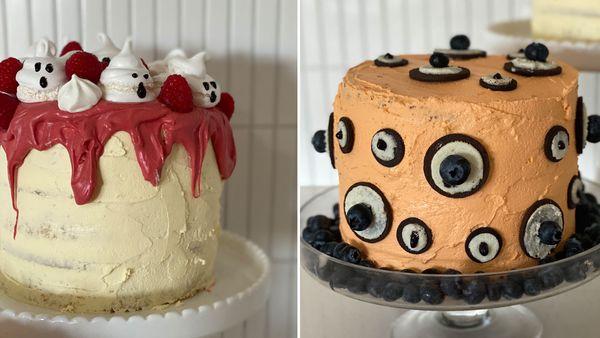 Woolworths mud Halloween cakes