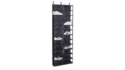 Over-Door Shelf Shoe Holder (24 Pocket)