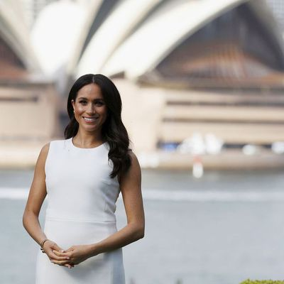 Meghan Markle at Admiralty House in Sydney's Kirribilli, Tuesday October 16 2018