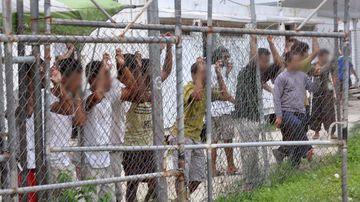 Manus Island detention centre.