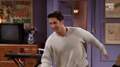 Friends designer reveals the reason why Monica's apartment was painted purple