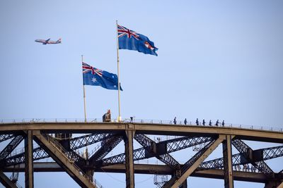 <strong>The BridgeClimb, Sydney Harbour Bridge, Australia</strong>