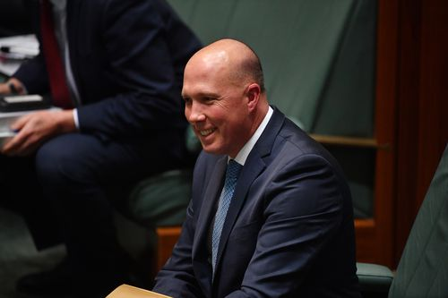 Treasurer Scott Morrison said he had been assured Peter Dutton was 'fully supportive' of the Prime Minister.