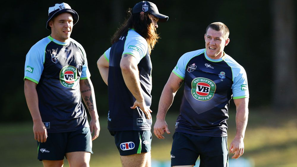 A rotation of NSW giants will challenge Queensland in the middle. (Getty)