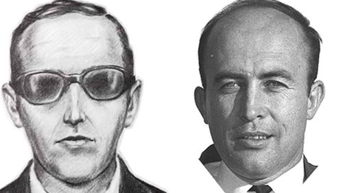 A comparison of the DB Cooper sketch and Sheridan Peterson.