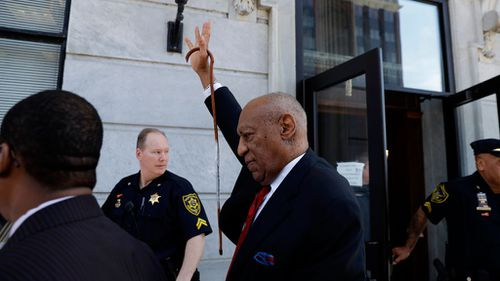 Bill Cosby was found guilty of three counts of aggravated indecent assault. (AAP)