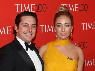 Whitney Wolfe Herd and Michael Herd in 2018.