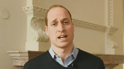Prince William has sent a message of support during the Fire Fight concert.
