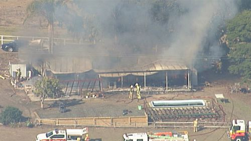 House fire in southeast Queensland