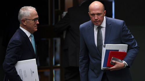 Malcolm Turnbull is once again facing internal pressure amid talk of a possible leadership challenge from Peter Dutton.