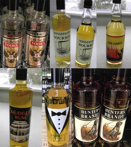 Eight brands of vodka, bourbon, tequila, rum, whiskey, brandy and gin have been recalled across multiple states due to a possible chemical contamination.